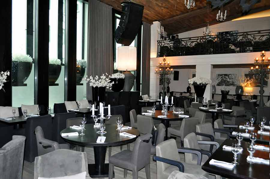 Ресторан Сибирь, Москва, Гинза проект. Мебель для ресторанов